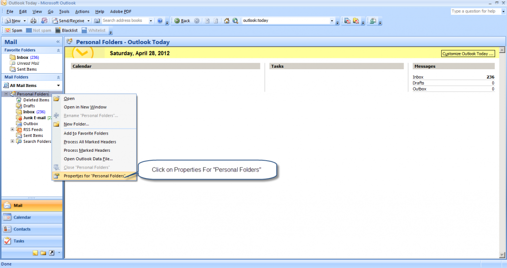 outlook PST2