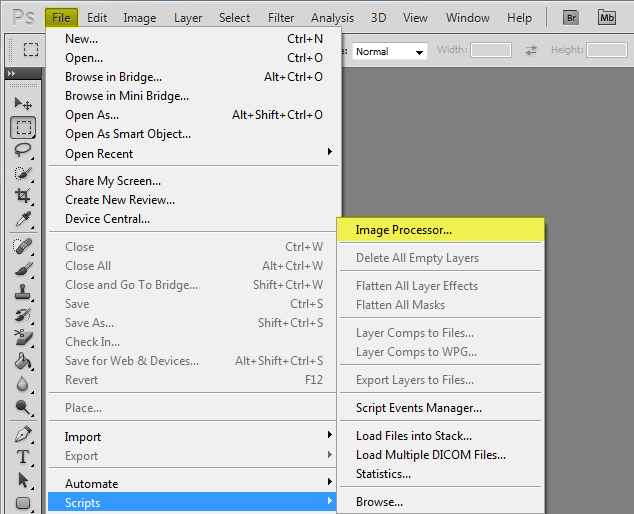 Photoshop Image Processor