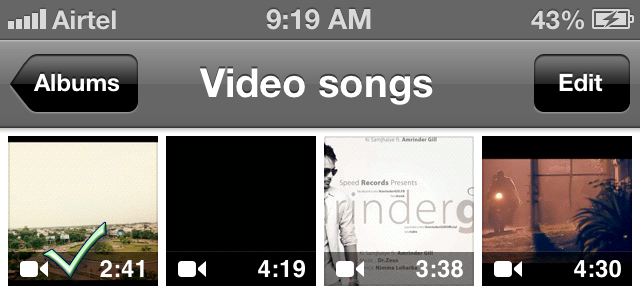 Upload video to youtube from iphone