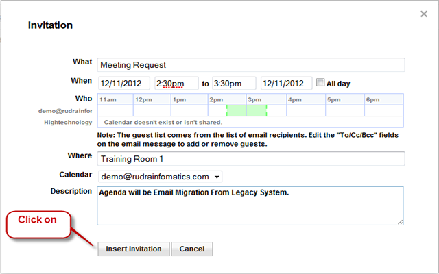 How To Send Meeting Request In Gmail