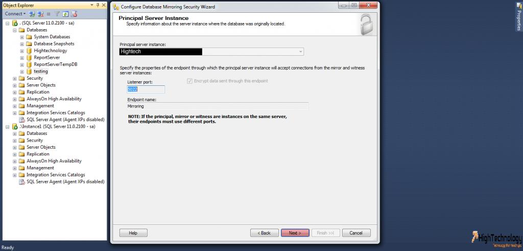 Mirroring In SQL Server 2012