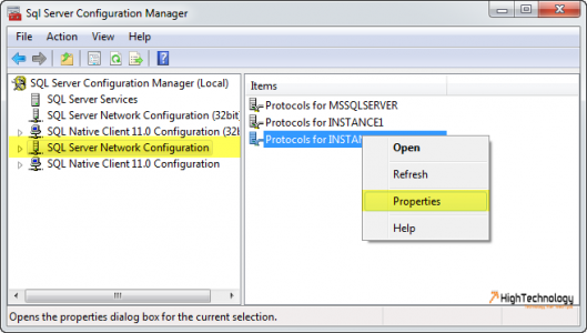 How To Hide An Instance Of SQL Server