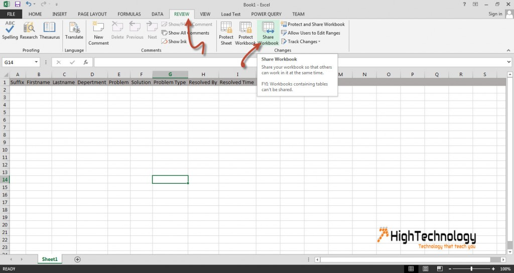How to Edit Excel File with Multiple Users