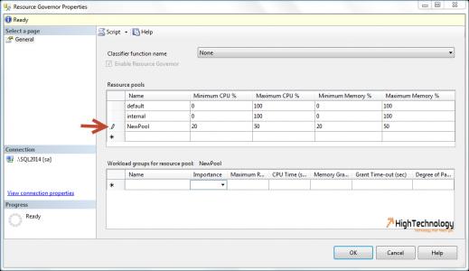 Resource Pool In SQL Server