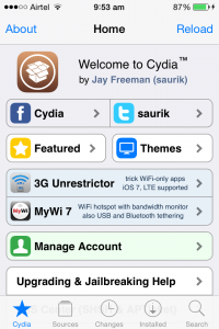jailbreak iOS 7.1.2, iOS 7.1.1 and iOS 7.1
