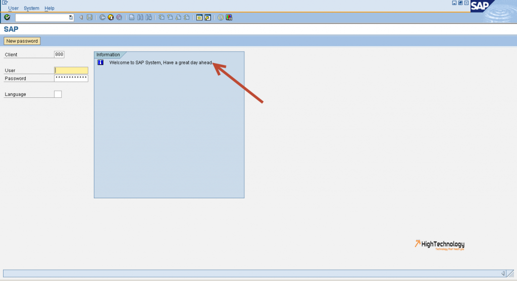 How to display a specific SAP logon screen per system