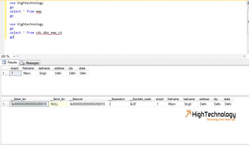 Change Data Capture in SQL Server