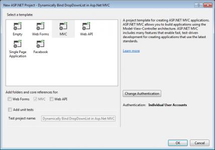 Dynamically Bind DropDownList in Asp.Net MVC