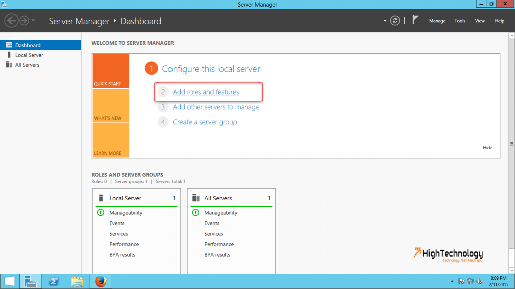 How to add Desktop Experience feature on Windows Server 2012
