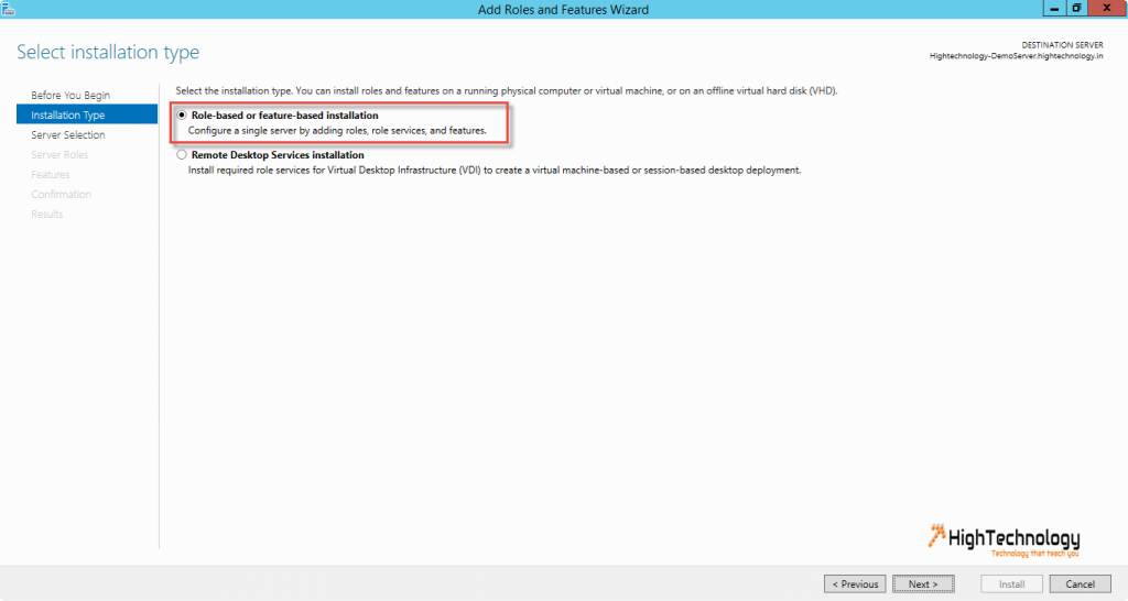 how to install active directory