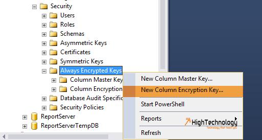 Always Encrypted SQL Server