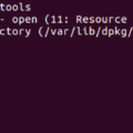 Unable to lock the administration directory (varlibdpkg), is another process using it