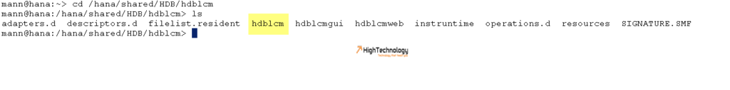 What is Difference Between HDBLCM and Resident HDBLCM
