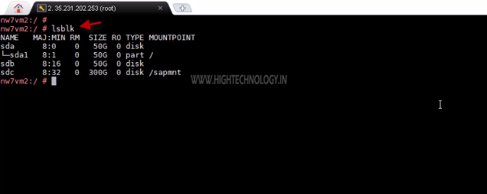 How to Create Linux Swap Partition - HighTechnology