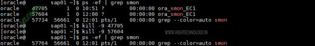 ORA-01102 exclusive mode